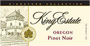 King Estate Pinot Noir Signature Series 2010