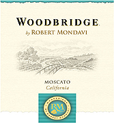 Woodbridge by Robert Mondavi Moscato 2009