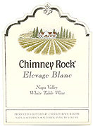 Chimney Rock Elevage White Wine 2007