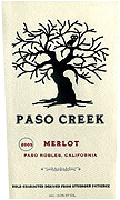 Paso Creek Merlot 2011