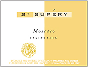 St. Supery Moscato 2012
