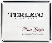 Terlato Family Vineyards Pinot Grigio Russian River 2011