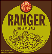 New Belgium Brewing Company Ranger IPA 22oz.