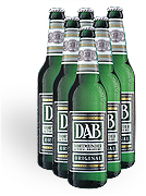 DAB Beer 6-pack 330ml. Botttles
