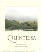 Quintessa Red Wine 375ml 2010