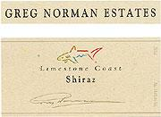 Greg Norman Shiraz 2008