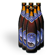 Hofbrau Dunkel Beer 6-pack 330ml. Bottles
