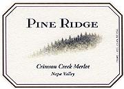Pine Ridge Merlot Crimson Creek