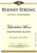Rodney Strong Sauvignon Blanc Charlotte Home