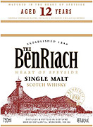 Benriach Single Malt Scotch 12 year Old