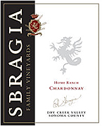 Sbragia Family Vineyards Chardonnay Home Ranch 2008