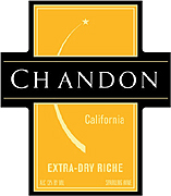Domaine Chandon Riche Extra Dry Sparkling Wine