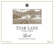 Star Lane Winery Syrah 2004