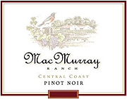 MacMurray Ranch Pinot Noir Central Coast 2008