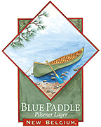 New Belgium Brewing Company Blue Paddle 6 pack