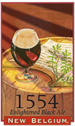 New Belgium Brewing Company Brussels Black 1554 6 pack