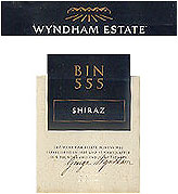 Wyndham Estate Shiraz Bin 555 2012