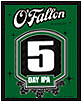 O'Fallon Brewery 5 day IPA 6pack
