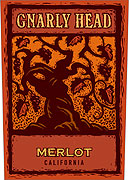 Gnarly Head Merlot 2012