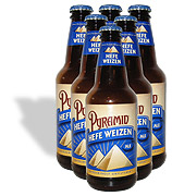 Pyramid Brewing Hefe Weizen Beer 6 pack