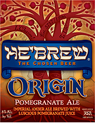 Schmaltz Brewing Company He'brew Origin Pomegranate Ale  22oz.