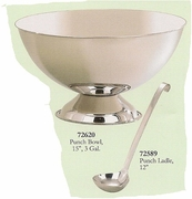 Elegance® Punch Bowl Rimless Stainless Steel  3 Gallon