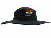 Bucket Style Hat with Brim Rainbow Squiggle