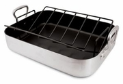 Roasting Pan, Non-Stick Heavy Duty Aluminum