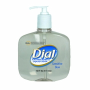 Liquid Dial® Antimicrobial Soap for Sensitive Skin 16oz  (12/case)