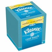 Kleenex Cool Touch Facial Tissue  3 Ply, 50 Sh/ Box, 27bx/case