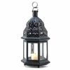 """Moroccan Style Birdcage Candle Lantern   12-1/2""""h"""
