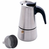 Chef�s Secret� 4 Cup Surgical Stainless Steel Espresso Maker
