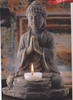 Stone Buddha Tealight Holder
