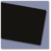 Hoffmaster® Solid Color Paper  Placemats  BLACK  1000/cs