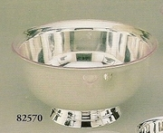 """Silverplated Paul Revere Bowl with Liner 10"""""""