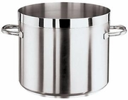 Grand Gourmet Low Stock Pot, Stainless Steel, Tabletop Sized   2-7/8 QT.
