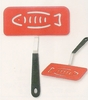 Fish Spatula with Offset Handle Super Silicone ™