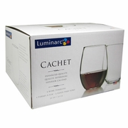 Luminarc Cachet Stemless Wine Glass 21oz  4/set