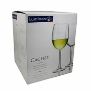 Luminarc Cachet Tulip Glass 19oz  4/set
