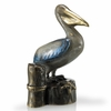 Pelican on Stump Sculpture