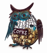 Cork Caddy™ Owl