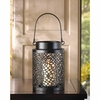 "Candle Lantern Tiny Bubbles Design  7""h"