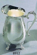 Silverplated Water Pitcher  Footed Style