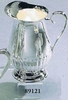 Silverplated Water Pitcher Queen Anne