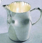 Silverplated Water Pitcher Plain