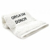 Bedroom Hand Towel  Embroidered  Orgasm Donor