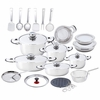 Chef's Secret� 33pc Heavy-Gauge Stainless Steel Cookware Set