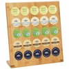 HealthSmart� Bamboo 25-Cup Rack for Single Serve Coffee Brewing Cups