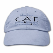 Ball Cap, Advice from a Cat