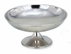 """Footed Bowl Hammered Elegance®  Stainless Steel  12""""dia"""